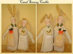 Casal coelhos Smuug