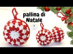 Christmas Crochet Patterns, Holiday Crochet, Christmas Bells, Xmas, Christmas Ornaments, Sunburst Granny Square, Free Crochet, Knitting Patterns, Crochet Earrings