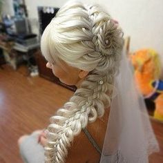... Bridal Hair Braids, Indian Bridal Hairstyles and Indian Wedding
