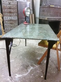 Just Jones Zinc Top Card Table