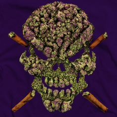 Weed skull http://www.spliffseeds.nl/silver-line/blue-berry-seeds.html