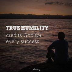 REDE MISSIONÁRIA: TRUE HUMILITY