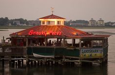 Ocean City Maryland. If you are looking for  seating on the water, this is one place (West OC B4 U cross the 50 bridge.)