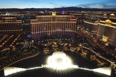 3 Awesome Facts About the Bellagio Fountains
