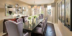 Palo Verde's exclusive formal dining area is excellent for entertaining family and friends.