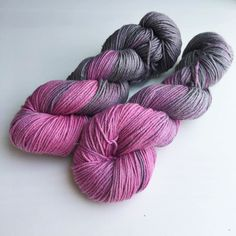 I've been trying out favourite colourways on different bases. I absolutely love this - Neon Storm on a silk merino base which makes the colours so soft and muted. And a touch of sparkle too! What do you think? . . This is the DK Dazzler base in stock now.