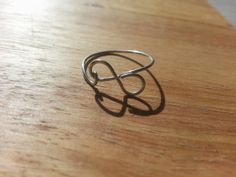Wire Infinity Ring by AmandasWiredTrinkets on Etsy, $6.00