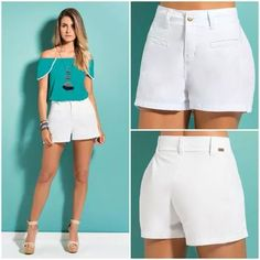 This Pin was discovered by Bum Summer Shorts, Summer Outfits, Cute Outfits, Teen Fashion, Womens Fashion, Chor, Look Chic, Fashion Pictures, Knit Dress