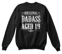 19th birthday gift badass aged 19