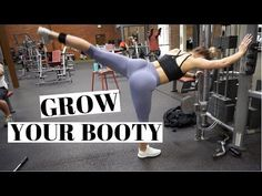 GROW YOUR BOOTY | Complete Leg Workout - YouTube