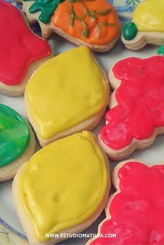 un cumple frutal #cookies #candy