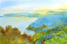 July 2011 CLASS: Painting Loosely and Colorfully in Watercolor Landscapes - WetCanvas