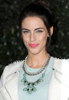 Actress, Jessica Lowndes - clear winter complexion and colors