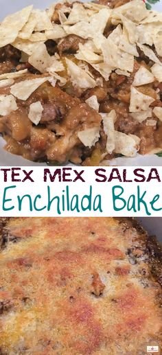 This crazy concoction of Texas and Mexican flavors is sure to make it on your menu! Ground beef, Salsa, and Mexican Cheeses take this savory dish up to Sweets Recipes, Drink Recipes, Fall Recipes, Mexican Food Recipes, Great Recipes, Favorite Recipes, Pinterest Food, Pinterest Recipes, Super Bowl Favorites