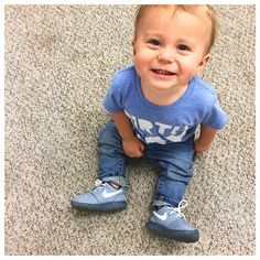 Birthday Dude Tee & Baby Nikes