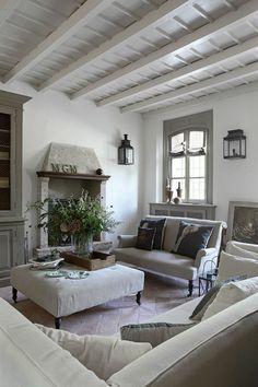Shabby-Chic Modern Rustic Interior #shabby#chic#ideas
