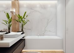 simple bathing room design