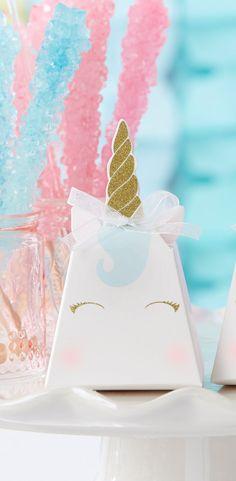 unicorn favor box set of 12 my wedding favorsbridal shower