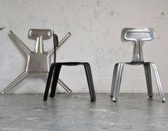 """La sedia in alluminio """"Pressed Chair"""""""