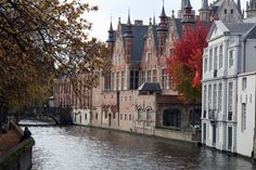 Canal in Bruges, Belgium. Picture: Marc Willems