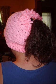 PONYTAIL CAP (Free Pattern)
