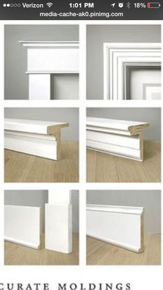 Craftsman vs colonial molding and trim