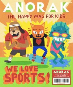 Anorak Magazine Subscription - mag nation - Subscribe to magazines from Australia, New Zealand and around the world