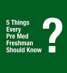 The MCAT? Here are the five things every pre-med freshman should know! Pa School, Medical School, School Stuff, Future Jobs, Becoming A Doctor, Med Student, School Motivation, Medical Field, School