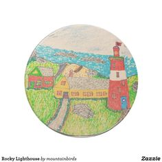 Keep your table protected with Lighthouse coasters from Zazzle! Drink Coasters, Lighthouse, My Design, Kids Rugs, Home Decor, Bell Rock Lighthouse, Homemade Home Decor, Light House, Kid Friendly Rugs