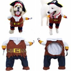 Funny-Pet-Dog-Pirate-Clothes-Costume-Outfit-Apparel-Halloween-Gift-S-M-L-XL