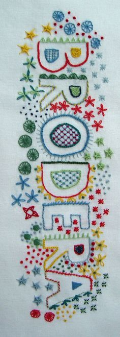 "Made by Helena Ericsson. ""Brodera"" - embroidery in Swedish."