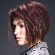 Coupes de cheveux carré déstructuré