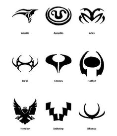 info stargate goa 39 uld symbols tatuajes pinterest tatuajes. Black Bedroom Furniture Sets. Home Design Ideas