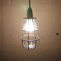 Mill cage pendant by Mulbury