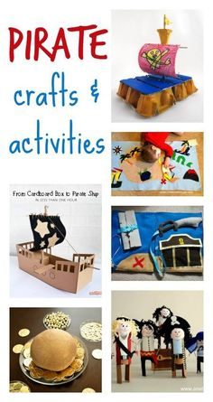Pirate crafts and activities for kids