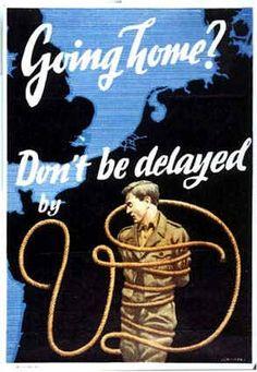 1939 45 AGAINST VENEREAL DISEASES