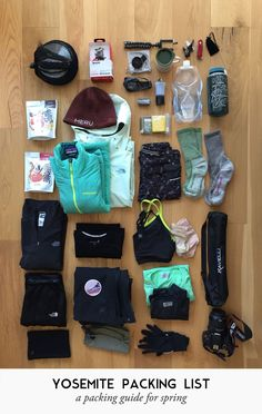 What to pack for a 2 - 3 day camping trip to Yosemite in the spring. @ Out of Office Mode What to pack for a 2 - 3 day camping trip to Yosemite in the spring. @ Out of Office Mode Camping Bedarf, Yosemite Camping, Camping Items, Camping Packing, Camping Style, Camping Supplies, Camping Checklist, Camping Essentials, Camping With Kids
