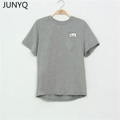 Cheap women visor, Buy Quality t-shirts solid directly from China t-shirt men Suppliers: 2017 Summer T-shirt Women Casual Lady Top Tees Cotton Tshirt Female Brand Clothing T Shirt Printed Pocket Cat Top Cute Tee S-4XL