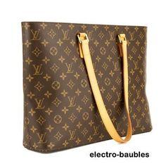 Selling for 66% off Retail - AUTHENTIC Louis Vuitton Monogram Luco Tote SR1010 - PRISTINE! #LouisVuitton #Luco
