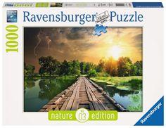 Ravensburger The Wooden Footbridge Jigsaw Puzzle Piece) Ravensburger Puzzle, Aqua Doodle, Puzzle Shop, Puzzle 1000, Mystique, Puzzle Toys, Jigsaw Puzzles, Sky, Nature