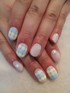 Pretty Easter nails