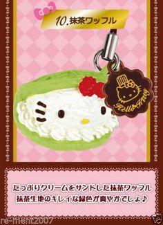 Re ment Sanrio Miniature Dollhouse Hello Kitty Moscot Sweet Cake Cupcake Strap 0 | eBay