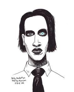 No.027 Marilyn Manson