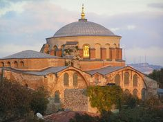 Byzantine church of St. Irene built by Constantine in Constantinople 4th century. Later became part of Topkapi Palace.