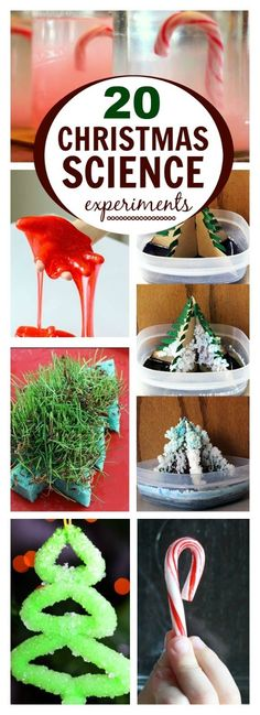 20 MAGICAL CHRISTMAS SCIENCE EXPERIMENTS FOR KIDS