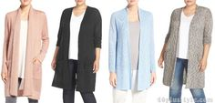 How to hide your belly: cardigans | 40plusstyle.com