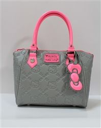 Loungefly Hello Kitty Neon Pink Splash Embossed Bag