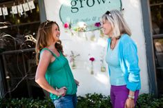 Shopping in the Village, Carlsbad, California