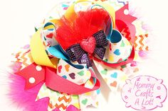 MommyCraftsAlot: How I make my SPIKES for hair bows