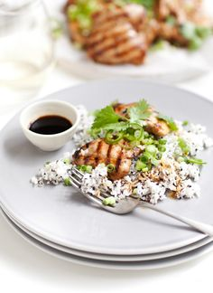 TAMARI CHICKEN AND RICE